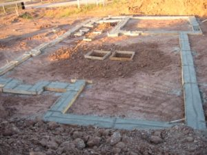 Poured Concrete Foundation Construction and Waterproofing