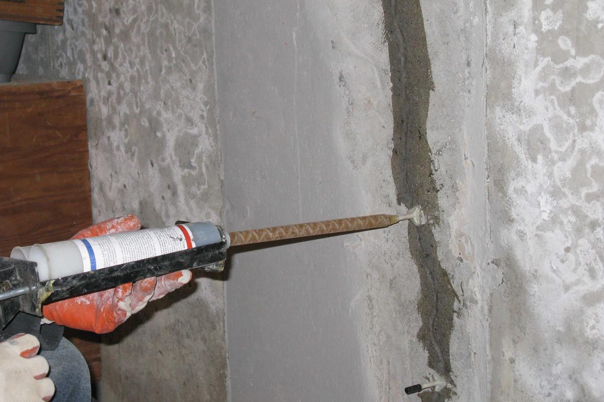 Basement Foundation Wall Crack Repair